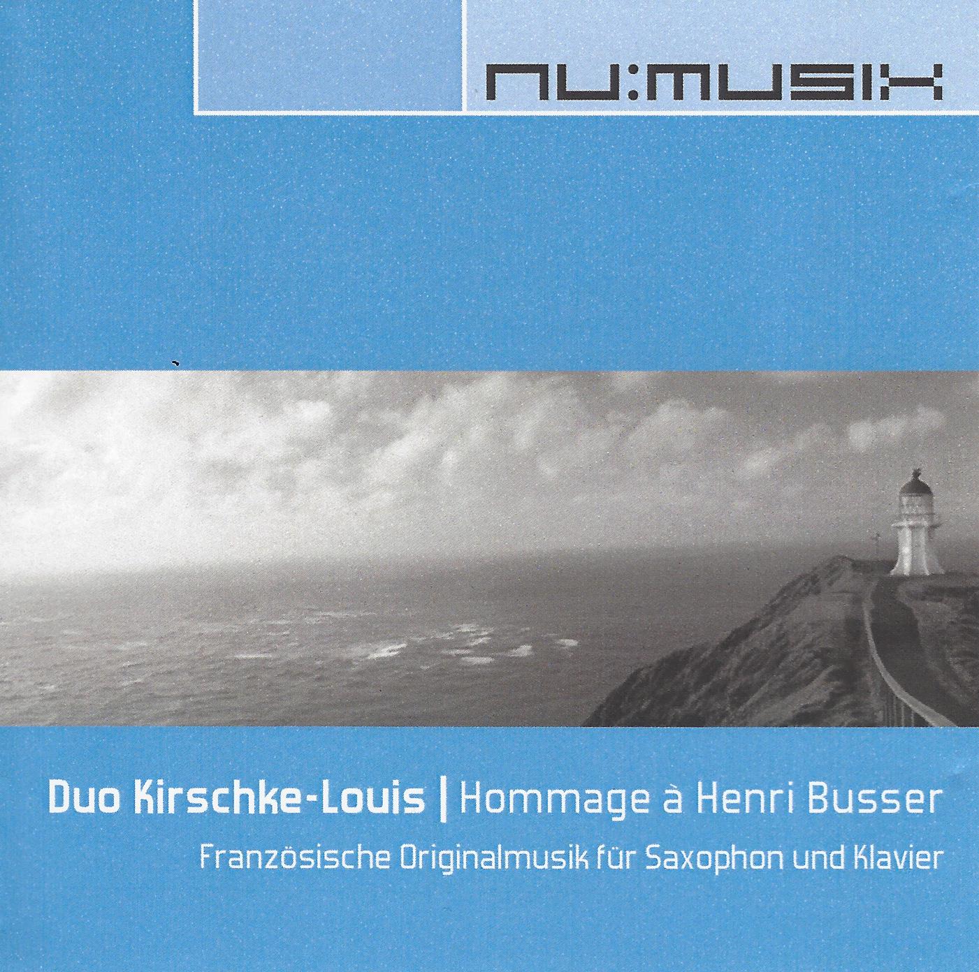 Christoph Kirschke – Saxophon lernen und spielen – Unterricht und Musikstücke – Hommage à Henri Busser