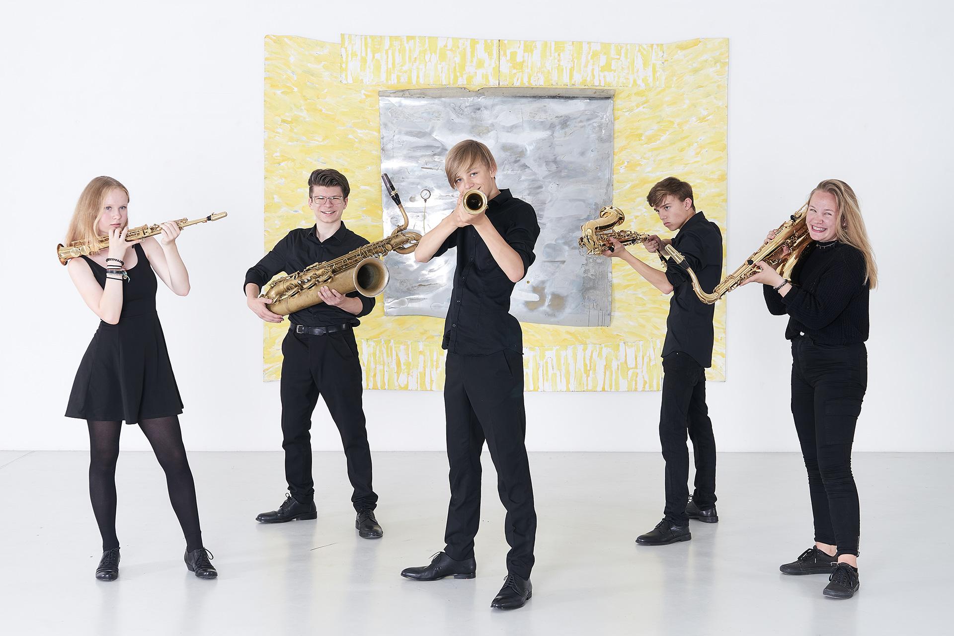Christoph Kirschke – Saxophon lernen und spielen – Unterricht und Musikstücke – Freiburger Saxophon Akademie, Quintett