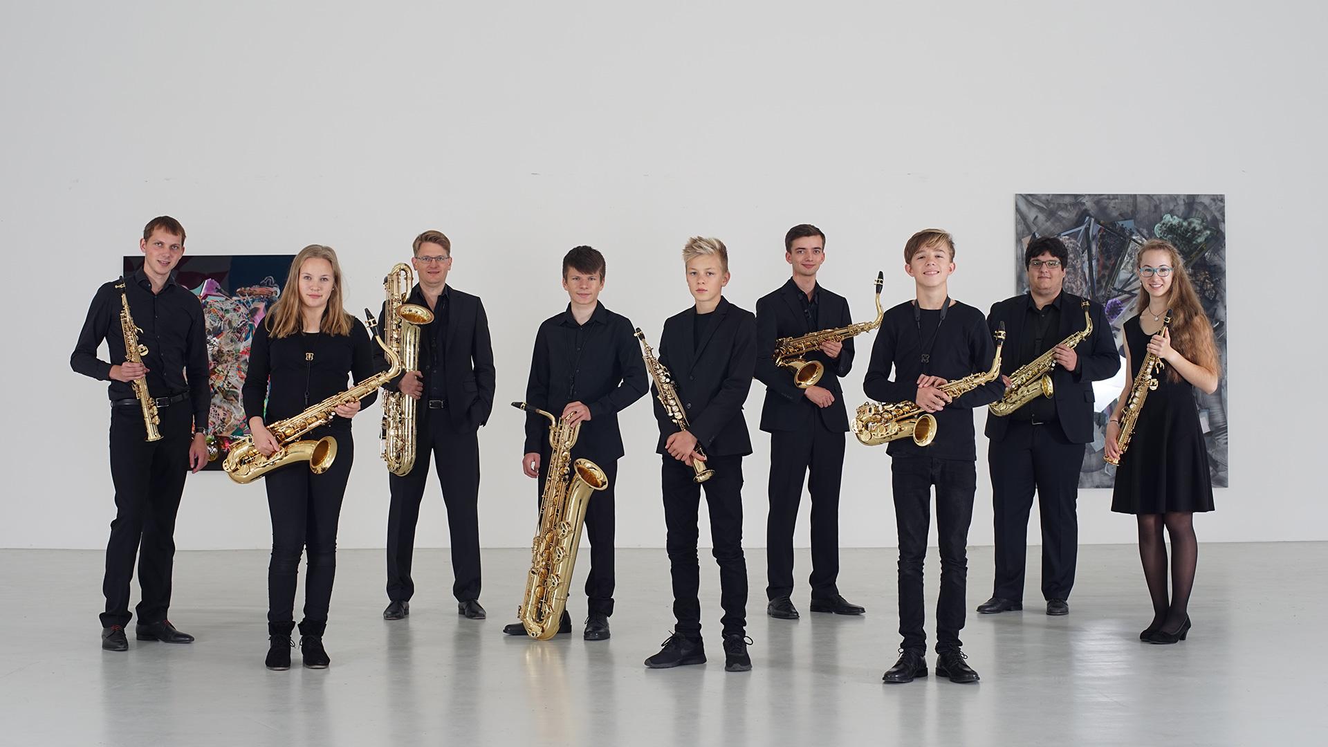 Christoph Kirschke – Saxophon lernen und spielen – Unterricht und Musikstücke – Freiburger Saxophonensemble 2017