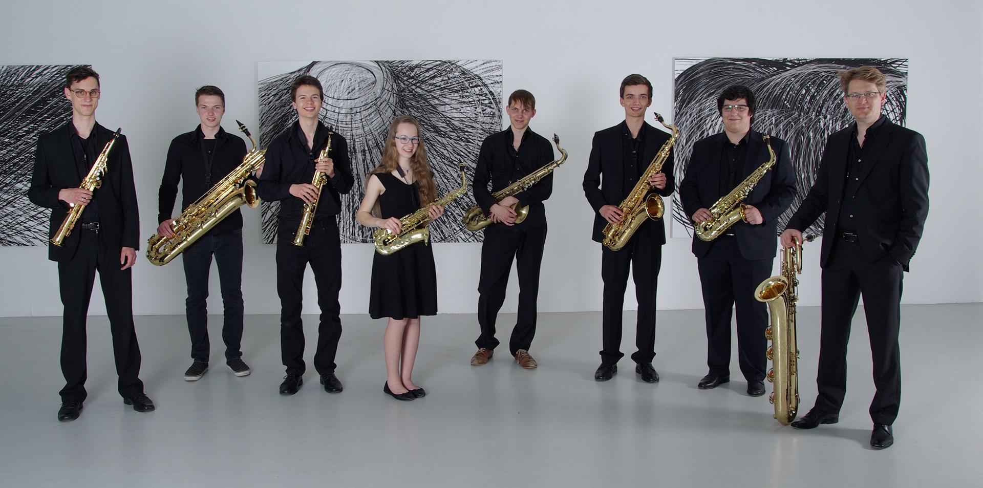 Christoph Kirschke – Saxophon lernen und spielen – Unterricht und Musikstücke – Freiburger Saxophonensemble 2016