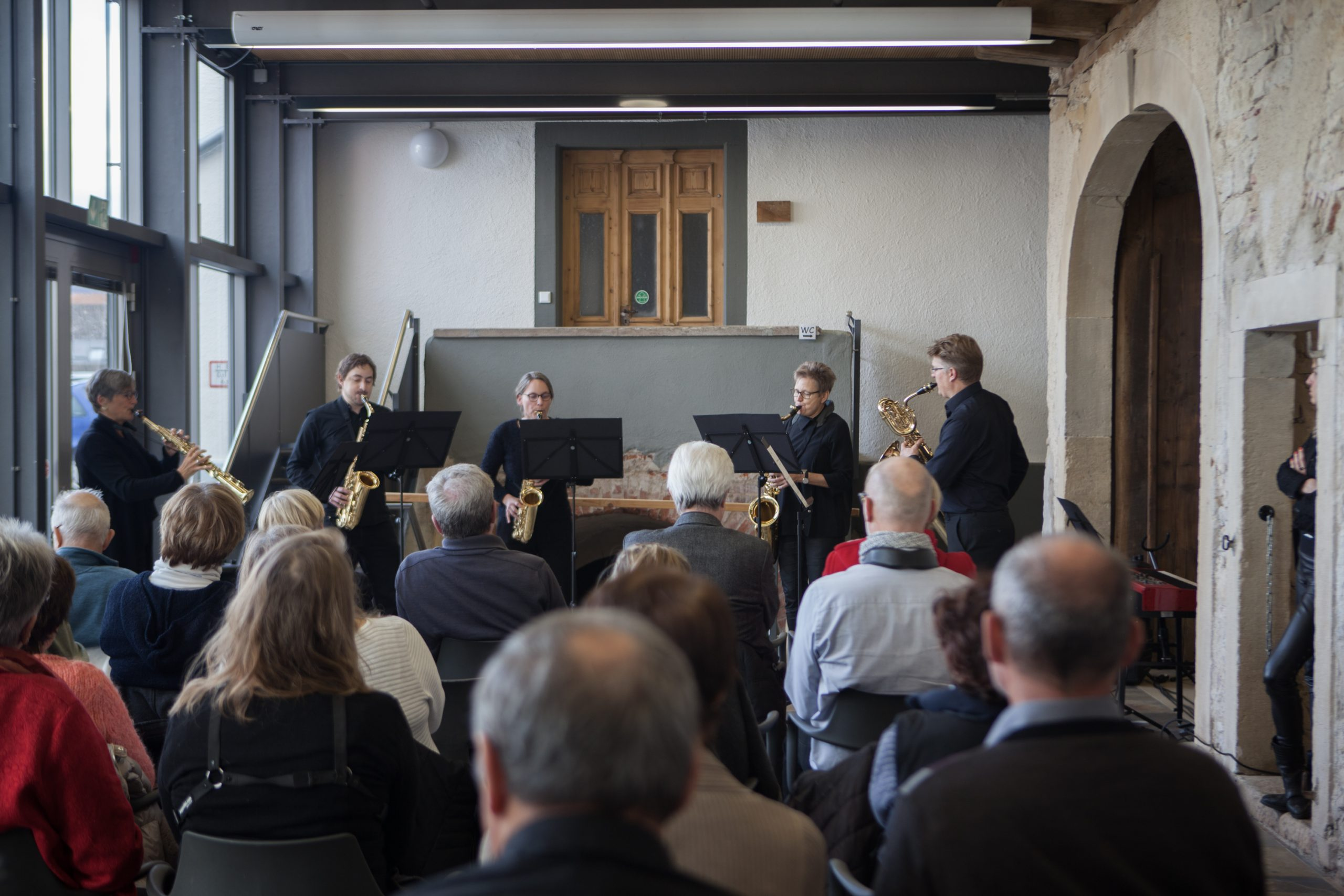 Christoph Kirschke – Saxophon lernen und spielen – Unterricht und Musikstücke – Freiburger Saxophon Ensemble 2019-2020